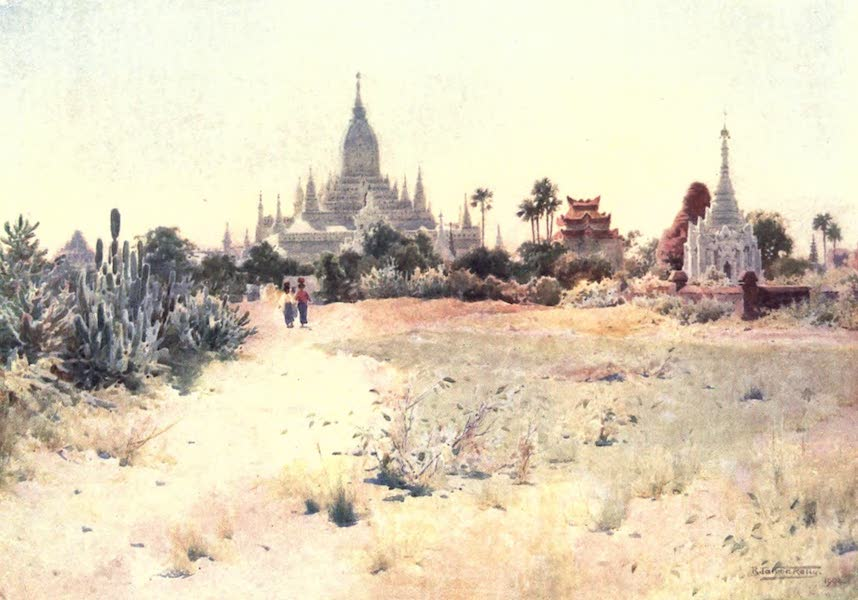 Burma, Painted and Described - The Ananda Temple - Pagan (1905)