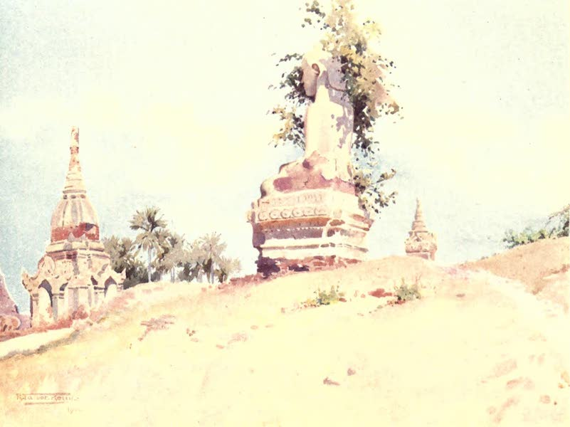 Burma, Painted and Described - A Buddha-near Pagan (1905)