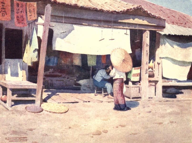 Burma, Painted and Described - In the Bazaar - Bhamo (1905)