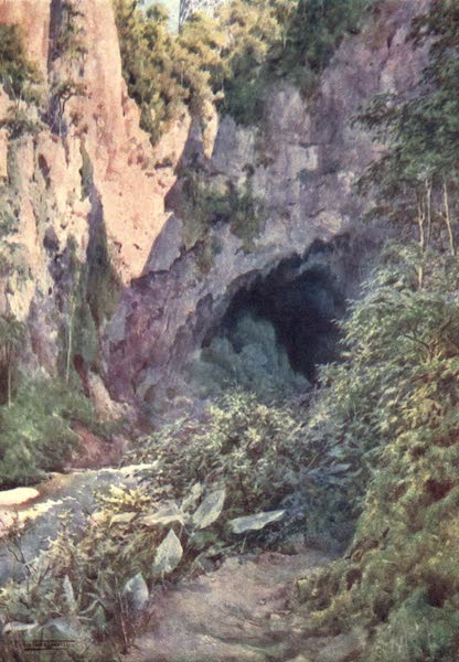 Burma, Painted and Described - The Goekteik Gorge (1905)
