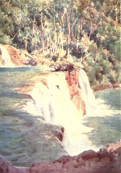Burma, Painted and Described - Fall on the Myit-nge River (1905)