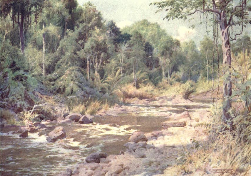 Burma, Painted and Described - On the Sterne River (1905)