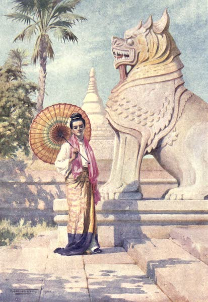 Burma, Painted and Described - Beauty and the Beast (1905)