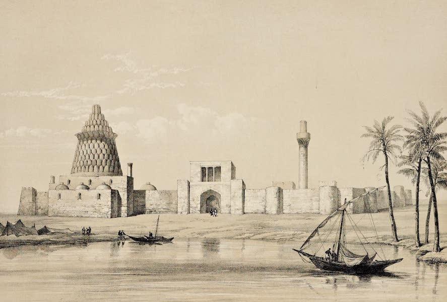 Byzantine Architecture - Tomb of Ezekial at Kefeli, near Bagdad (1864)