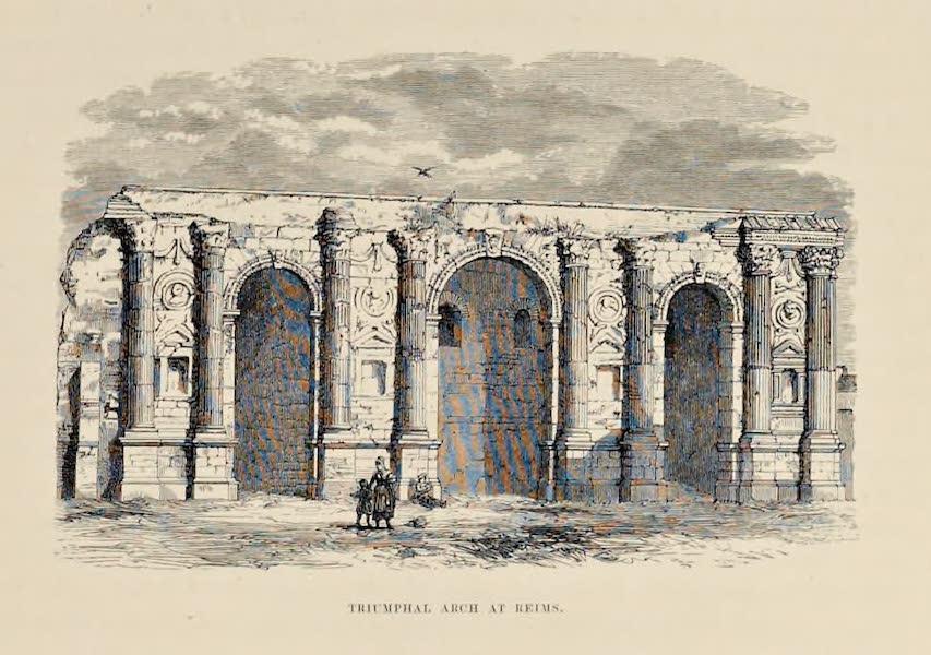 Byzantine Architecture - Triumphal Arch at Reims (1864)