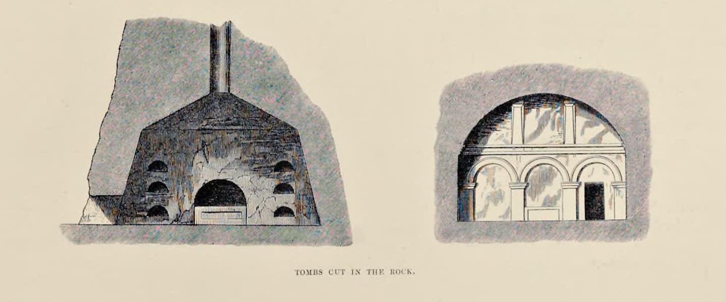 Byzantine Architecture - Church Cut in the Rock near Surp Garabed (1864)