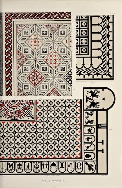 Byzantine Architecture - Mosaic Pavements [I] (1864)
