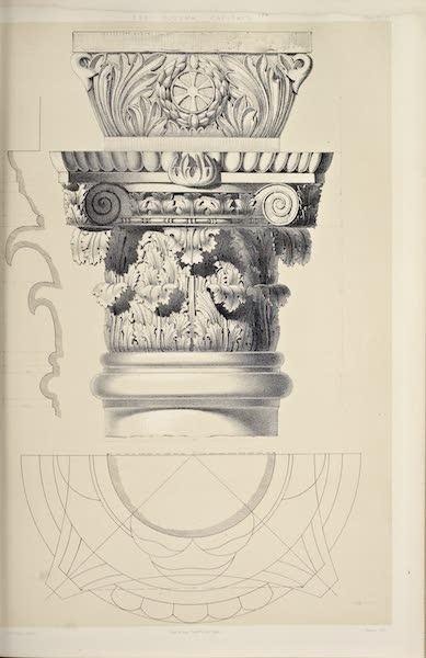 Byzantine Architecture - Eski Djouma, Thessalonica - Capitals (1864)