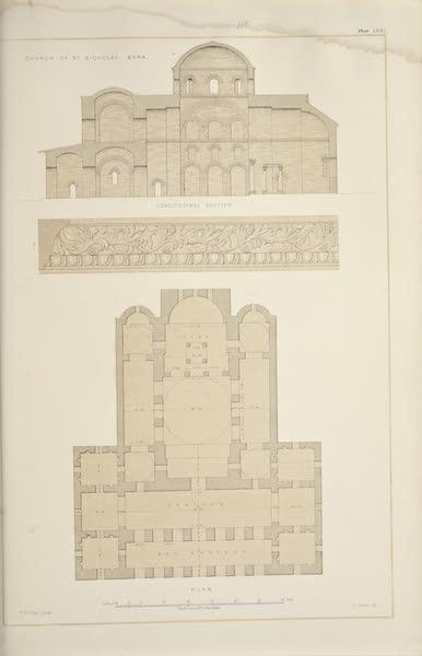 Byzantine Architecture - The Church of St. Nicholas at Myra (1864)