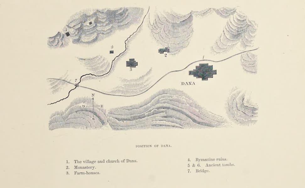 Byzantine Architecture - Position of Dana (1864)
