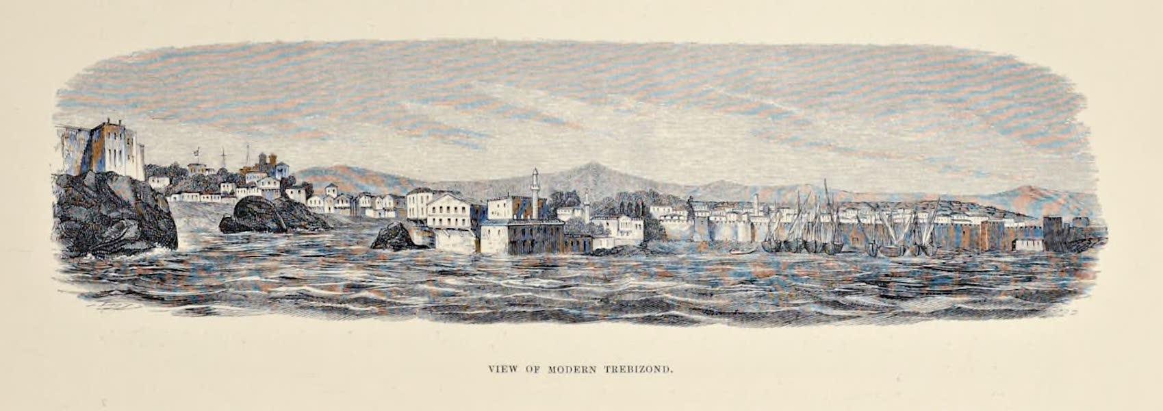 Byzantine Architecture - View of Modern Trebizond  (1864)