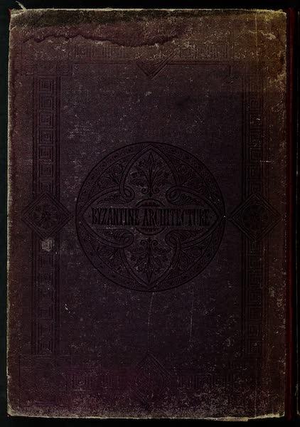 Byzantine Architecture - Back Cover (1864)