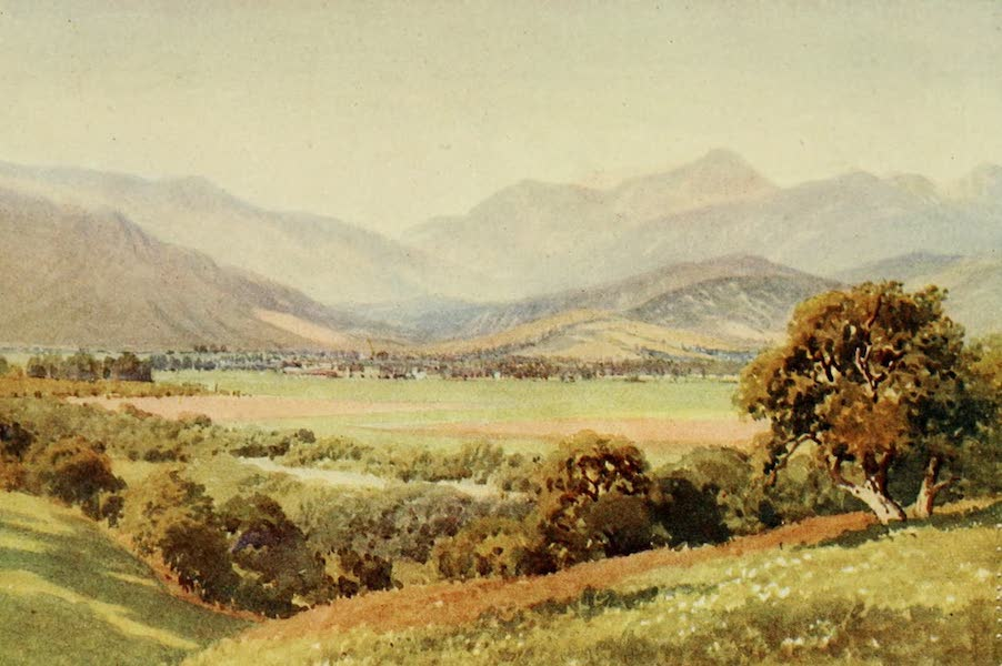 California : The Land of the Sun - Glendale, Valley of the San Gabriel (1914)