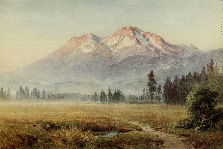 California : The Land of the Sun - Mount Shasta-Sierra Glow (1914)