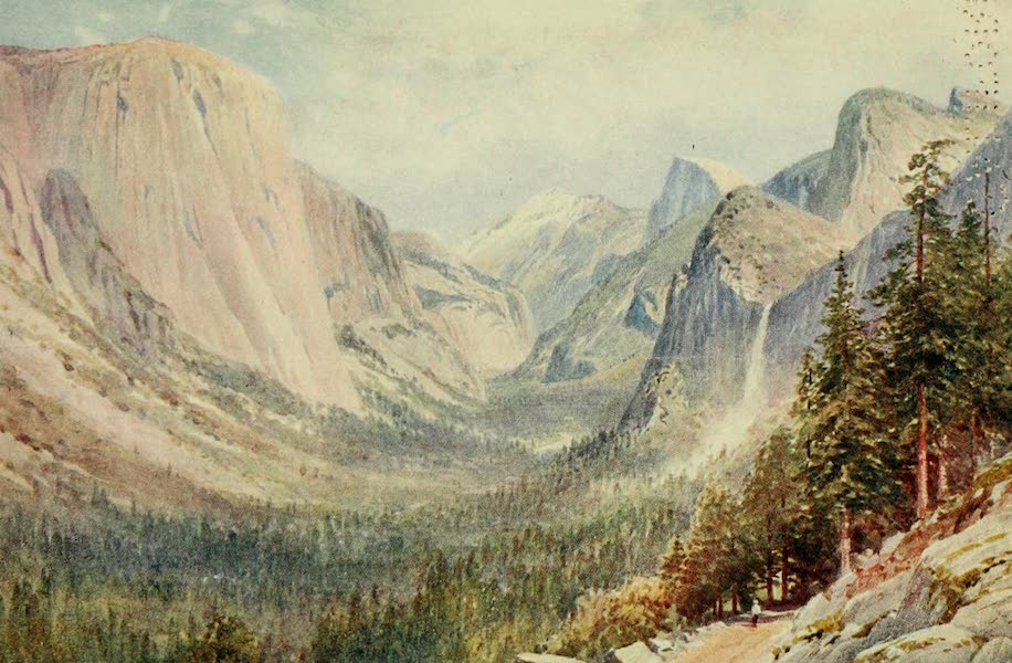 California : The Land of the Sun - Valley of the Yosemite (1914)