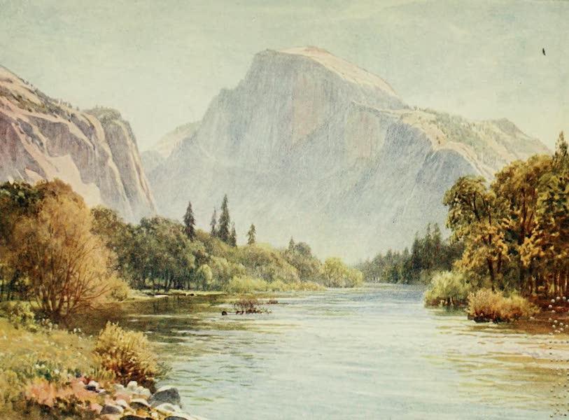 California : The Land of the Sun - The Half Dome, Yosemite (1914)