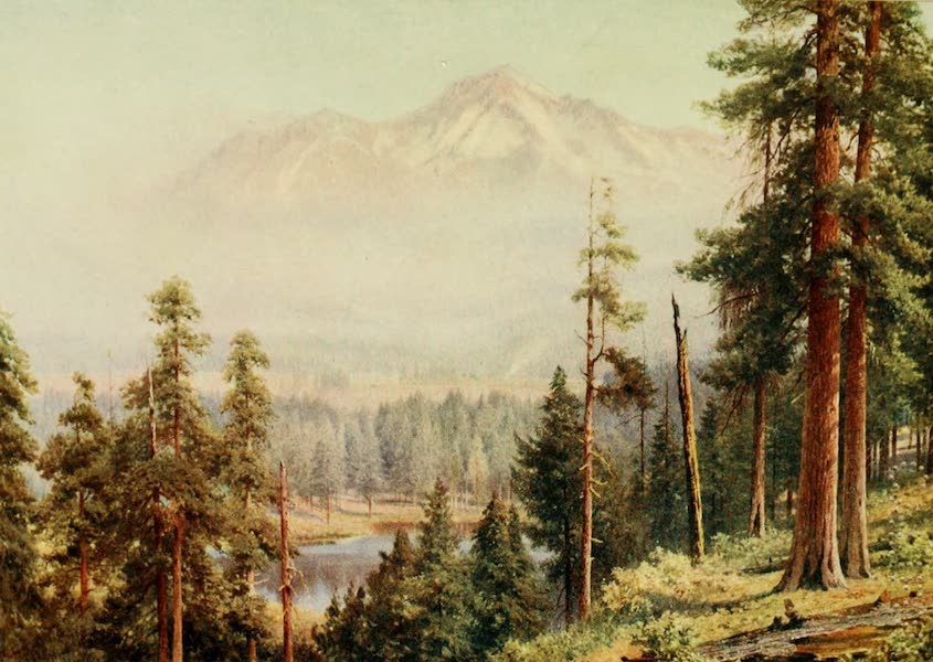 California : The Land of the Sun - Shasta-Snow Clouds (1914)