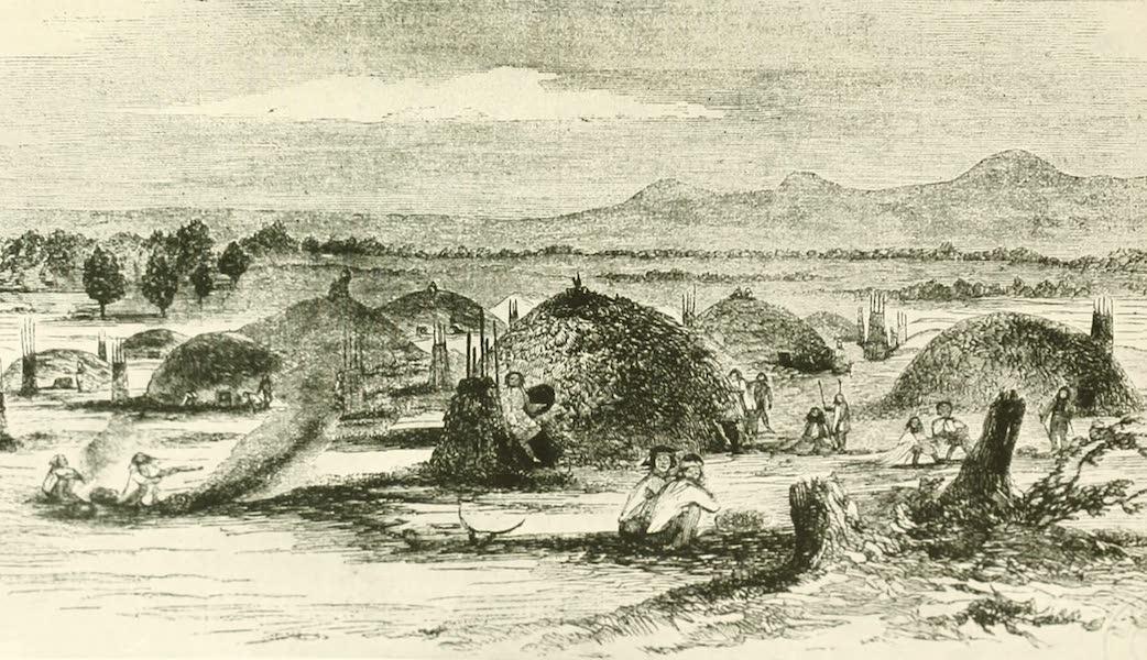 California the Wonderful - View of an Indian rancheria, Yuba City (1914)