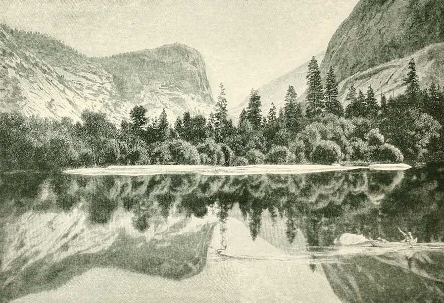 California the Wonderful - Mirror Lake, Yosemite Valley (1914)