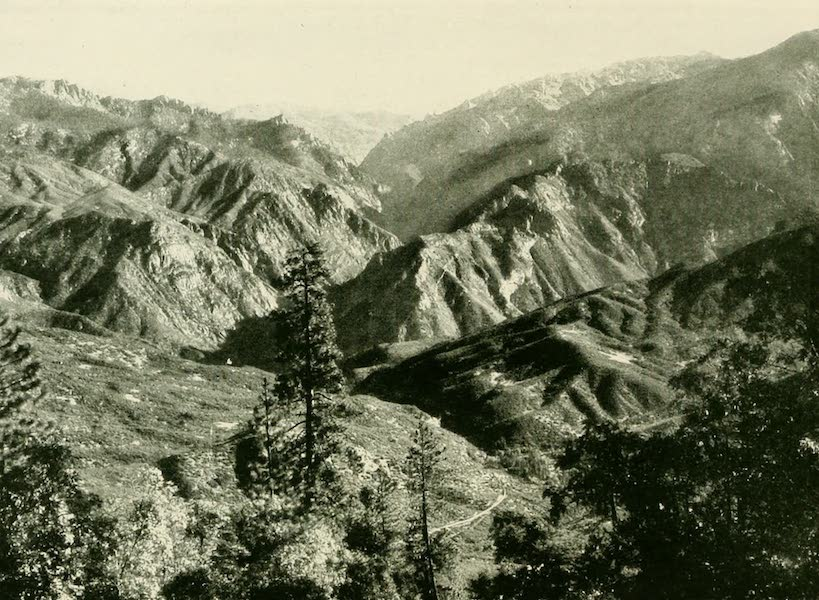 California the Wonderful - Middle Fork of Kings River Canyon (1914)