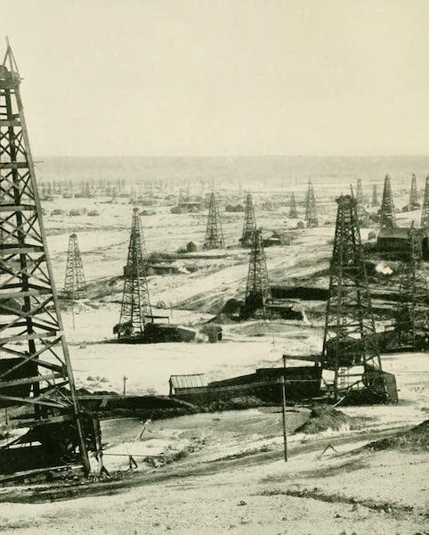 California the Wonderful - An oil field, Bakersfield (1914)