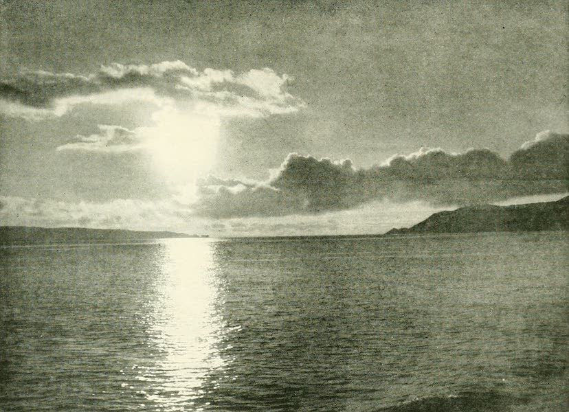 California the Wonderful - The Golden Gate at sunset (1914)