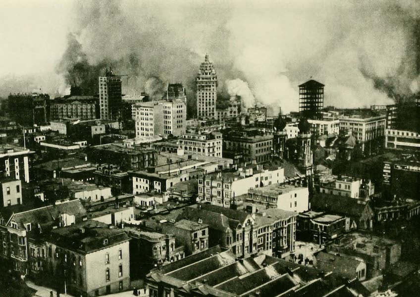 California the Wonderful - San Francisco on the first day of the fire (1914)