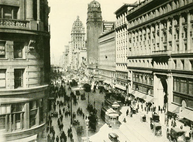 California the Wonderful - Market St., San Francisco (1914)