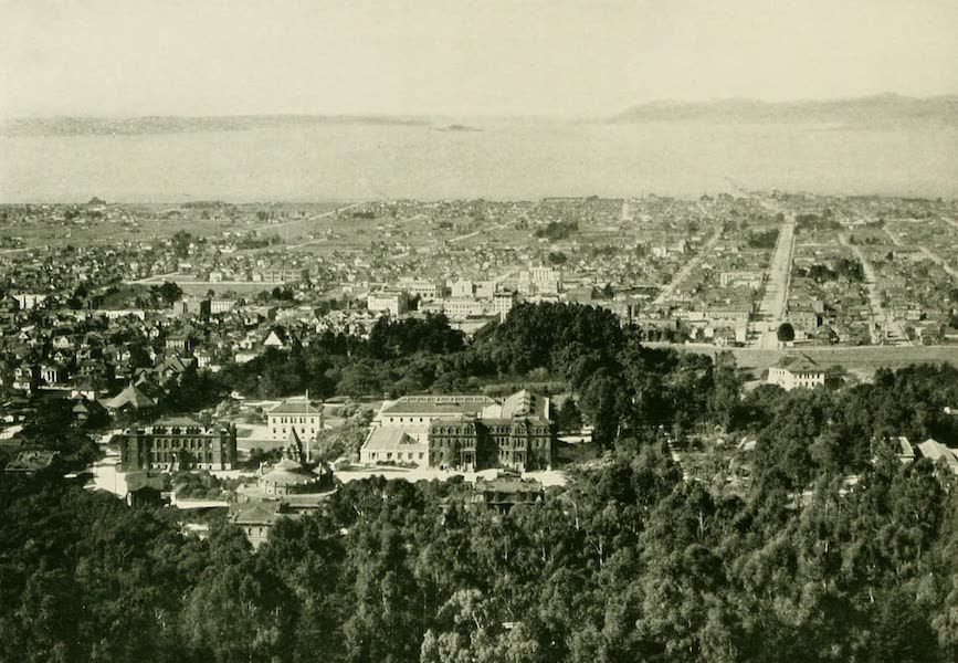 "California the Wonderful - ""Classical, scholar-built Berkeley"" (1914)"