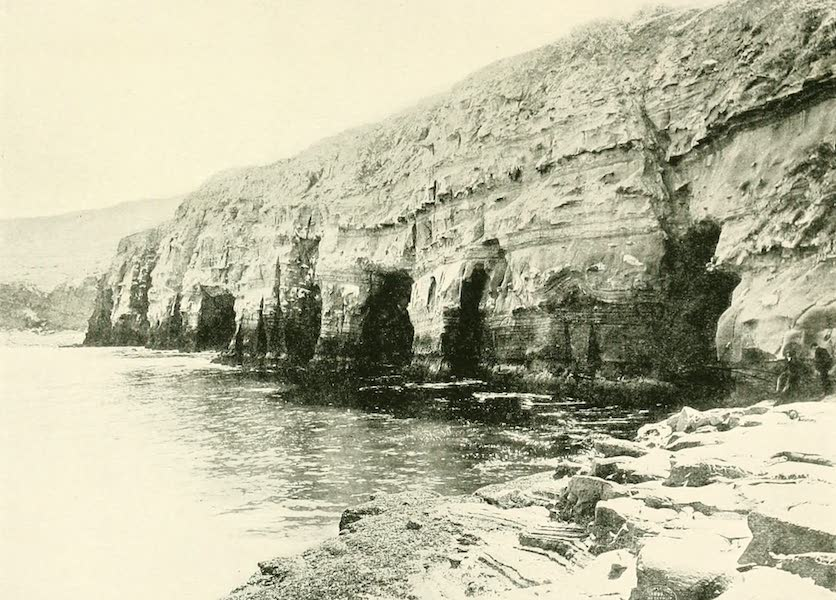 California the Wonderful - The curious cliffs and caves of La Jolla at San Diego (1914)
