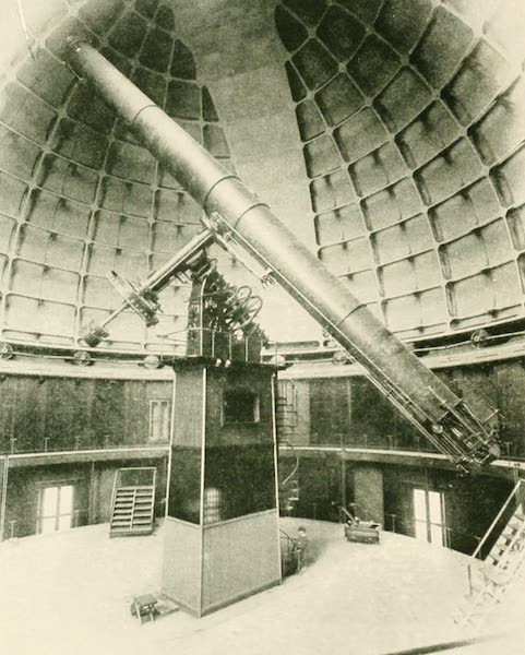 California the Wonderful - The Lick Observatory, and its immense and unique lens (1914)