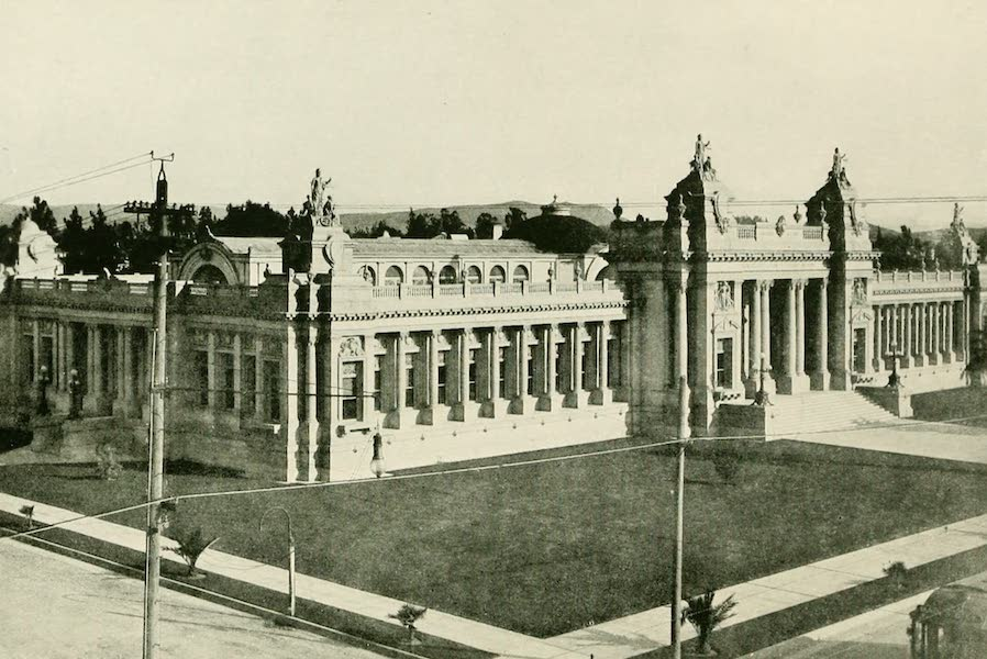 California the Wonderful - The County Court House at Riverside (1914)