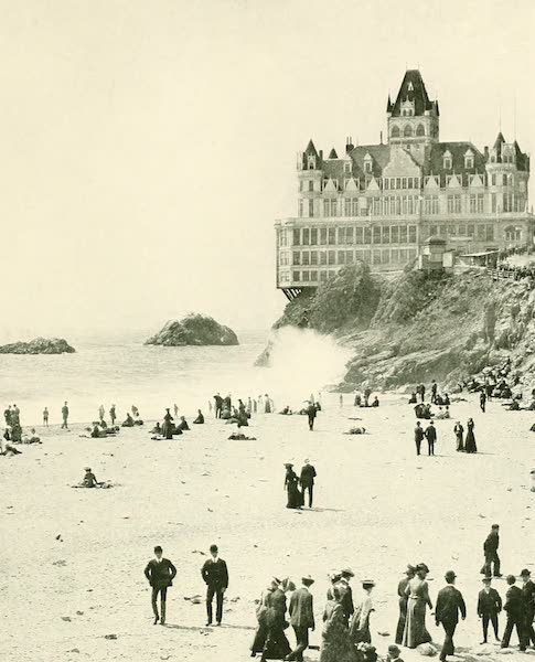 California the Wonderful - The Cliff House at San Francisco (1914)