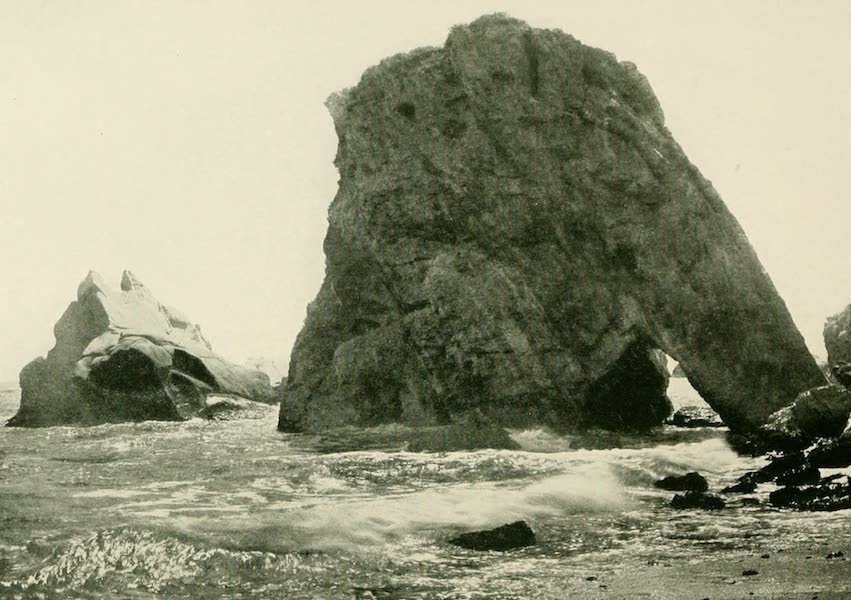 California the Wonderful - Mastodon Rock, Shell Beach (1914)