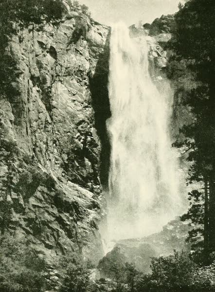 California the Wonderful - The Bridal Veil, one of the Yosemite's sky-pouring waterfalls (1914)