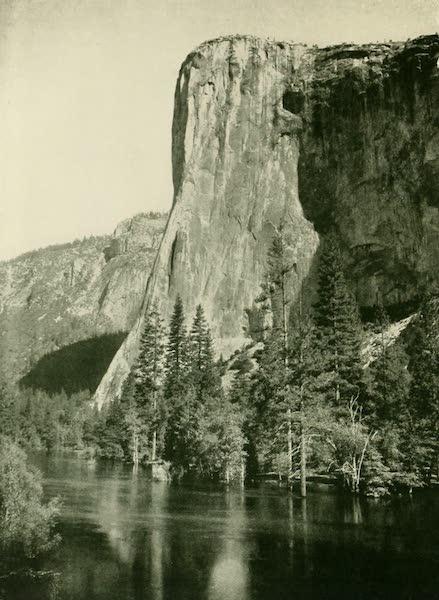 California the Wonderful - El Capitan soars upward in one sheer flight of 3,300 feet (1914)
