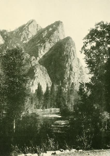 California the Wonderful - The Three Brothers, Yosemite Valley (1914)