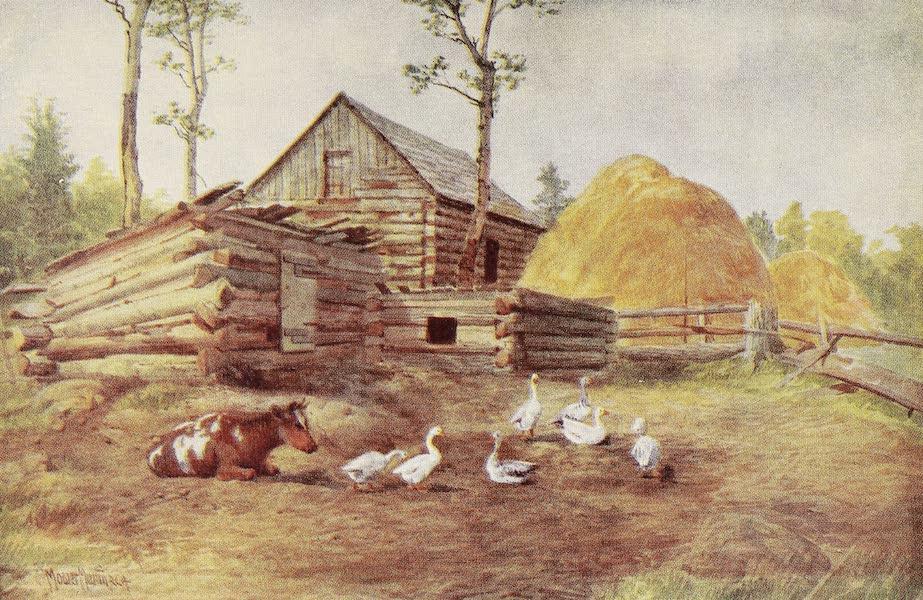 Canada, Painted and Described - Settler's Farmyard, Muskoka (1907)