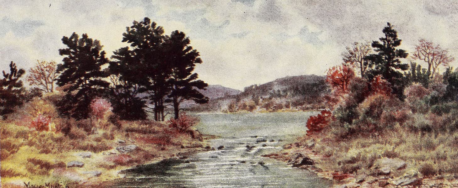 Canada, Painted and Described - Fall of the Year, Nova Scotia (1907)