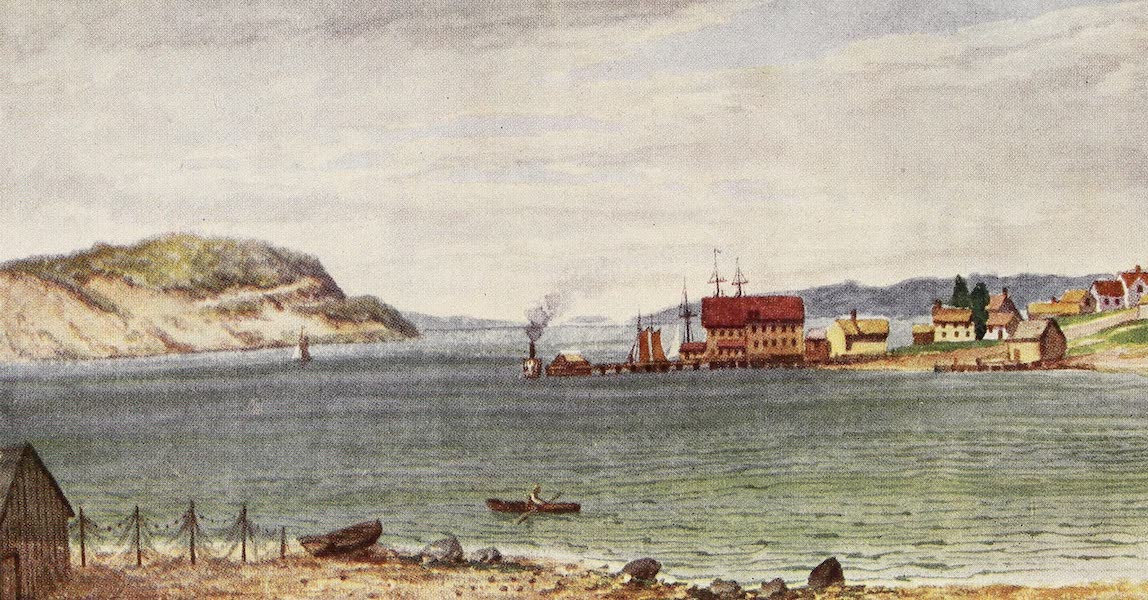 Canada, Painted and Described - Port Hawkesbury, on the Strait of Canso, Cape Breton (1907)