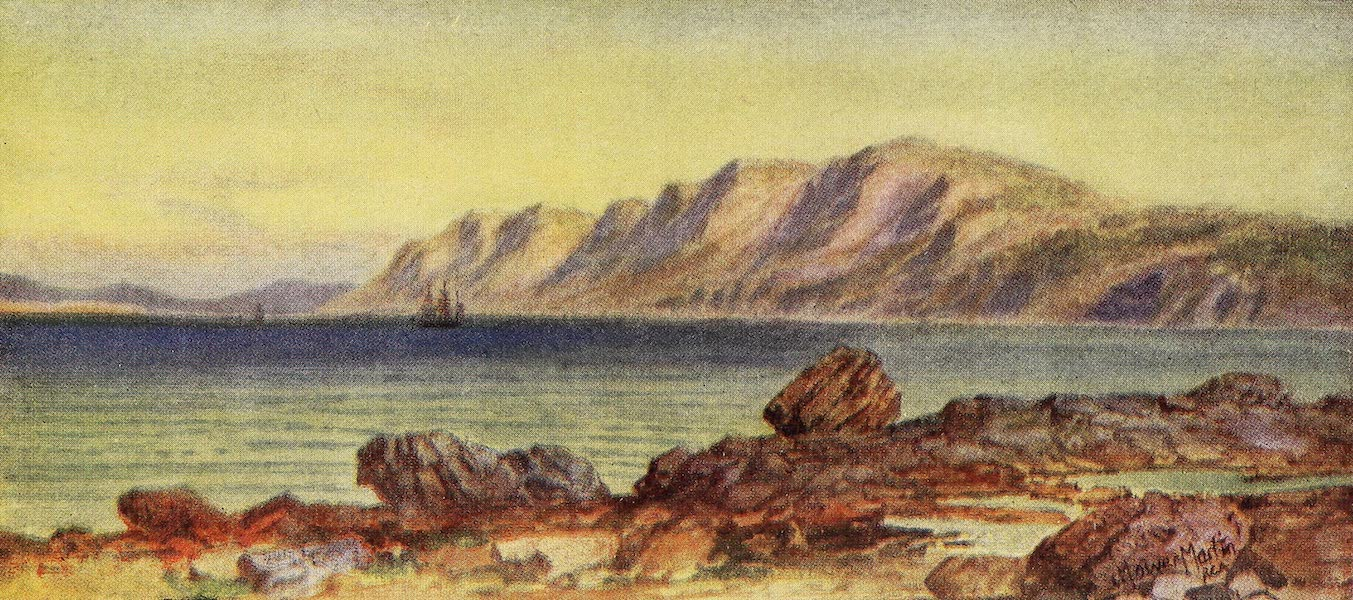Canada, Painted and Described - Cape Porcupine, Gut of Canso, Cape Breton (1907)