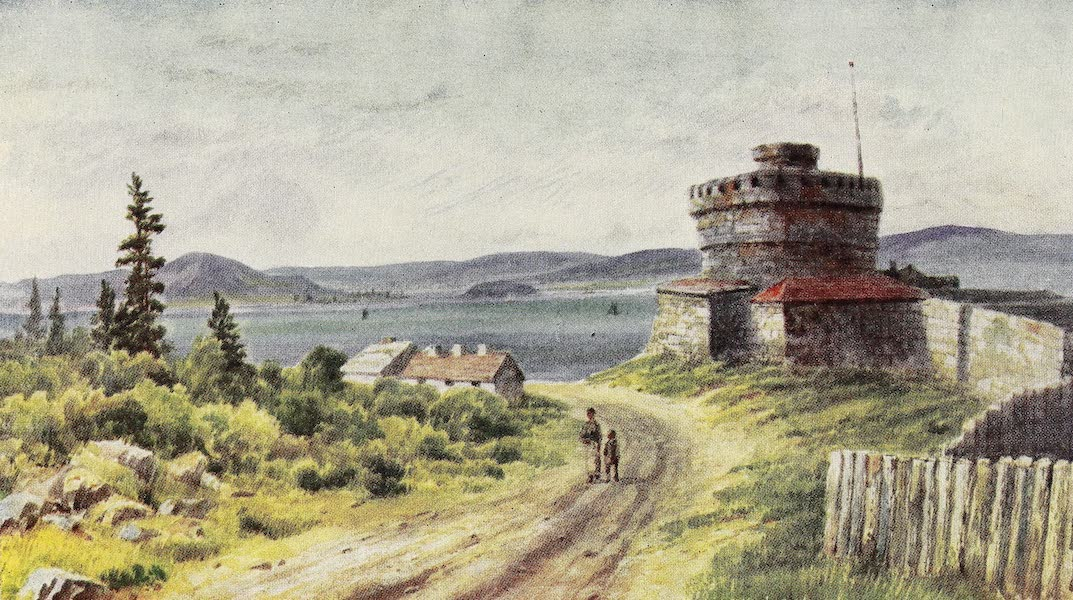Canada, Painted and Described - York Redoubt, and Halifax Harbour (1907)