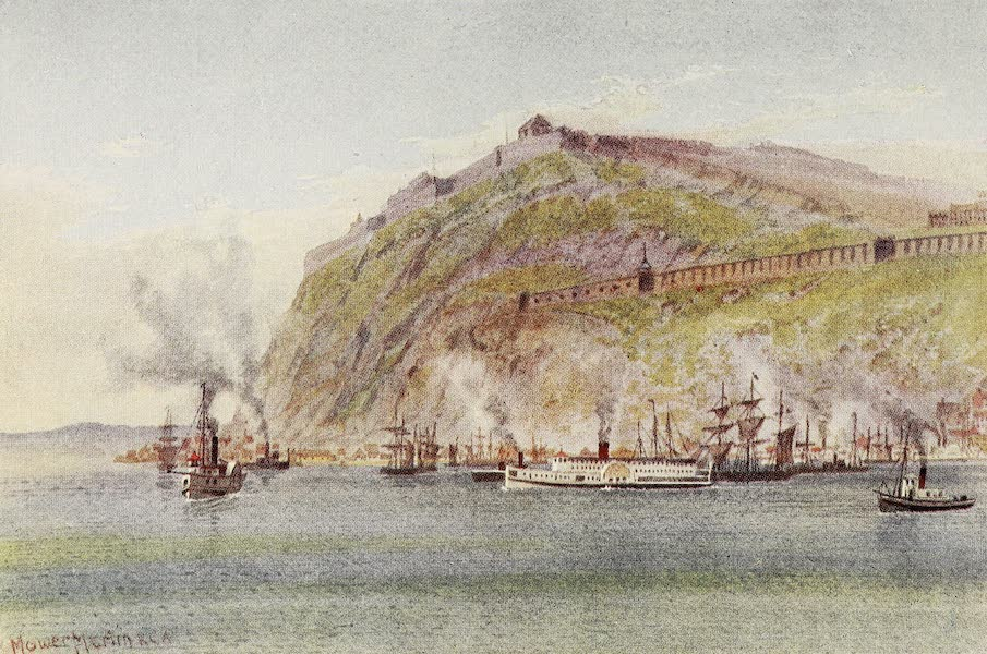 Canada, Painted and Described - The Citadel, Quebec (1907)