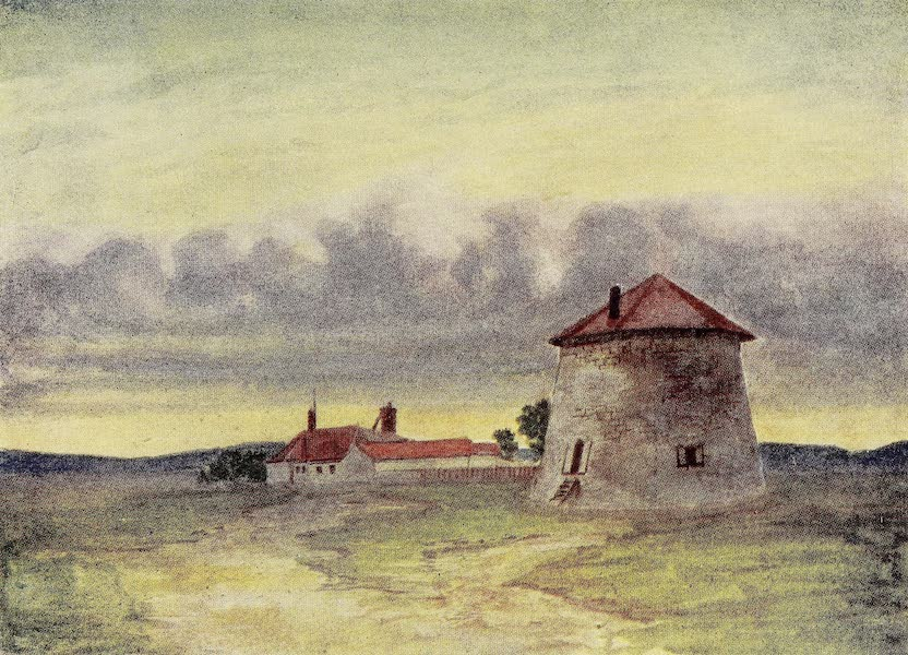 Canada, Painted and Described - Martello Tower, Plains of Abraham (1907)