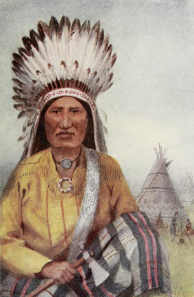 Canada, Painted and Described - An Indian Chief (1907)