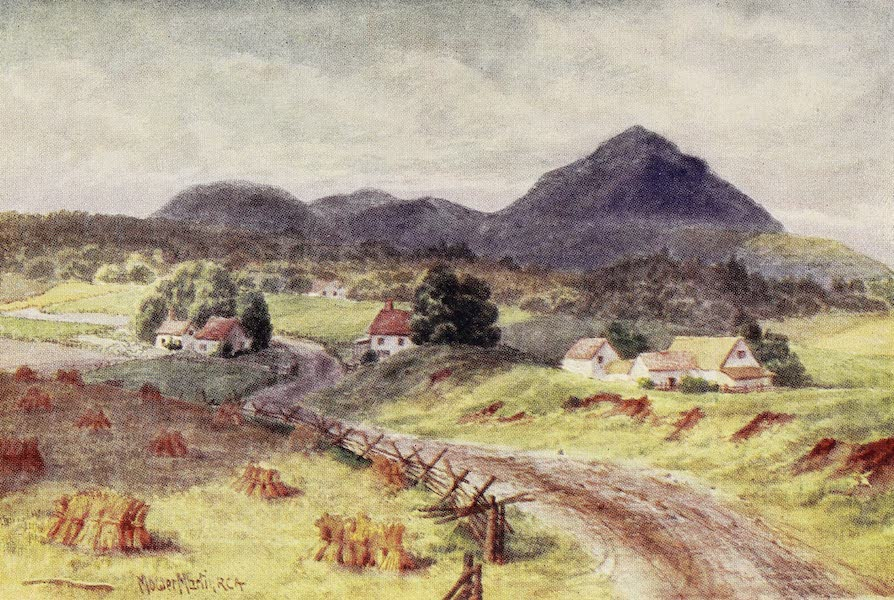 Canada, Painted and Described - Owl's Head Mountain, near Montreal (1907)