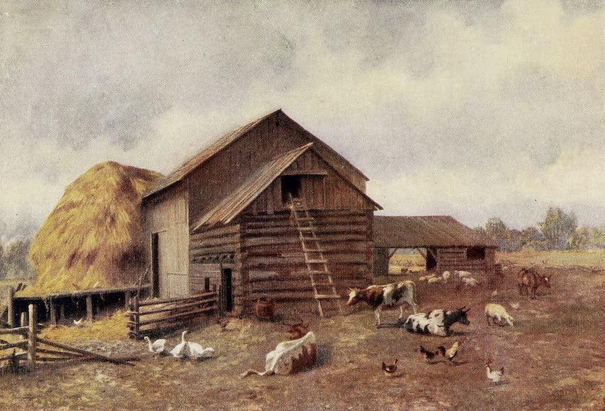 Canada, Painted and Described - A Farmyard in Ontario (1907)