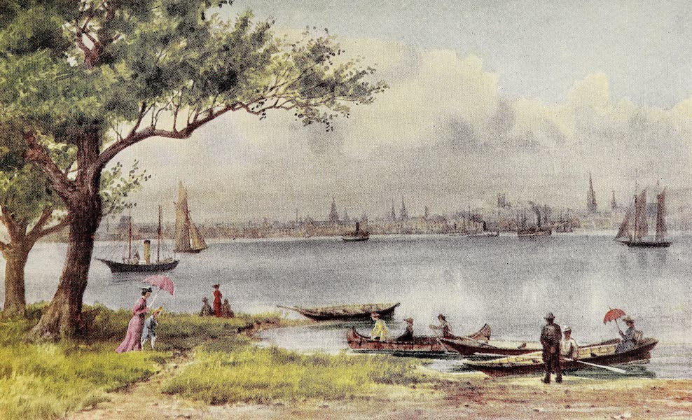 Canada, Painted and Described - Toronto, from the Island (1907)