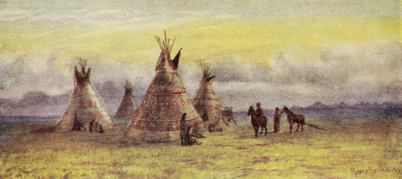 Canada, Painted and Described - Indians in the Olden Time (1907)