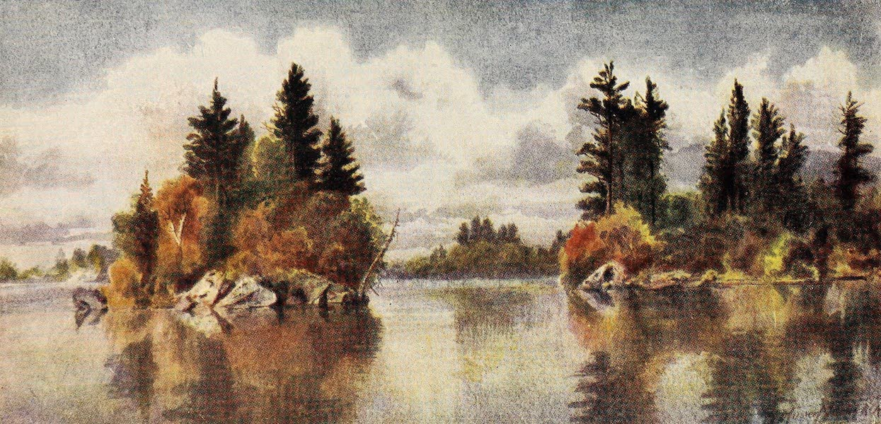 Canada, Painted and Described - Autumn on Lake of Bays, Muksoka (1907)